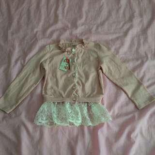 女童蕾絲外套15