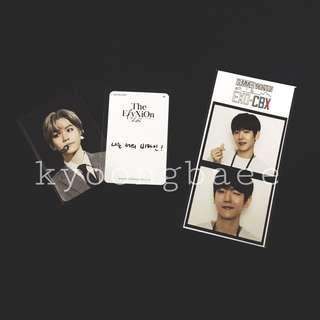 [WTS/WTT] Ready stock EXO Baekhyun voice keyring pc & film set