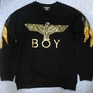 Boy Londan 羽毛圖案 衛衣 韓版