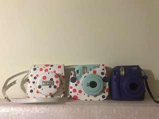 FUJIFILM. Instax mini 8 and mini 9 with instax Bag 100each OBO with the bag.