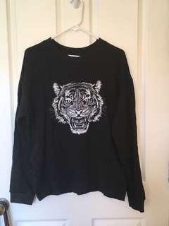Comfy Tiger head jumper
