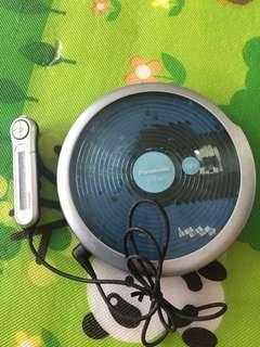 FS: Panasonic portable mp3 CD player