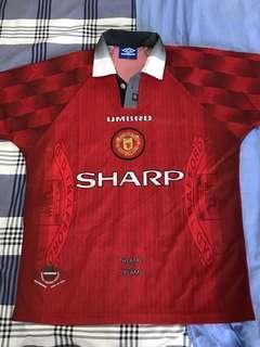 曼聯 Manchester United 96/98 主場球衣