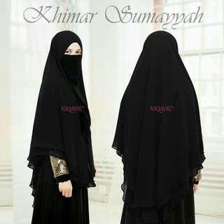 Khimar Sumayyah 2 Layer