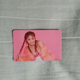 Mamamoo Wheein 'Purple' photocard
