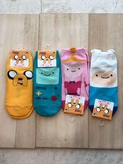 Adventure time ankle socks