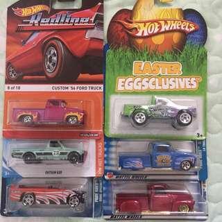 Hot Wheels - Truck Set