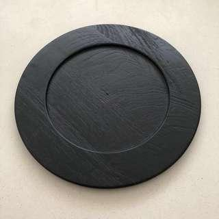 Crate & Barrel Wooden Charger Plate