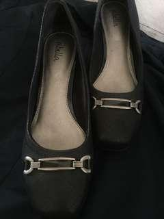 Abella Black Shoes (For school or office)