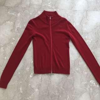 Mango Red Cardigan