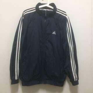 Adidas classic windbreaker jacket