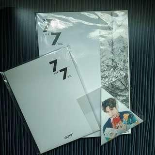 Got7 7 for 7 Present Edition: Starry Hour Album set
