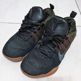 NIKE KOBE XI ELITE LOW 4KB 黑馬 US7.5