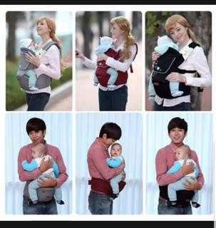 Baby Hipseat Carrier with sleeping hood