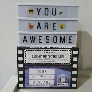A6 LED Letter Light Box Free Postage