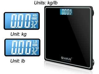 Digital Weighing Scale Rechargeable USB cable bathroom scale