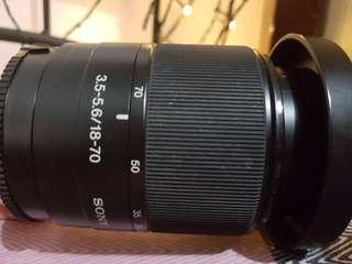 Sony DSLR Lens - F3.5-5.6 18-70mm