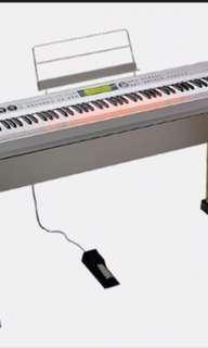 Cheapest in Carousell Casio PL40R - 88 weighted keys digital piano for sale!!