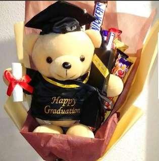 Graduation bear (ready stock)