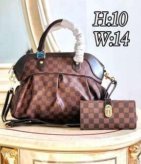 LV Trevi with Wallet Set