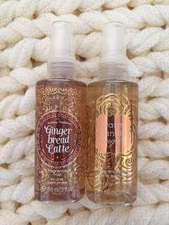 Bath&Body Works Sprays