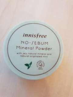 Mineral powder no sebum innisfree