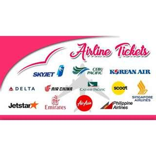 DISCOUNTED LOCAL & INTERNATIONAL AIRFARE