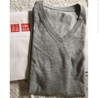 Uniqlo Vneck Shirt