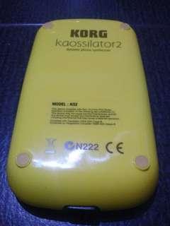 Korg Kaossilator 2 Synthesizer
