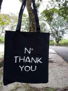 Tote Bag 'N Thank You' Design RM 9