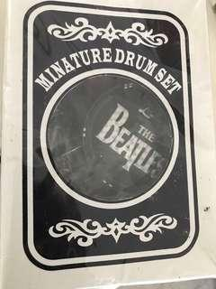 Beatles miniature drumset collectables
