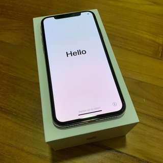 [Fast deal!] iPhone X 64GB Silver / White