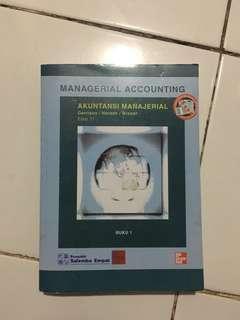 Akuntansi Manajerial Buku 1 Garrison/Noreen/Brewer Edisi 11