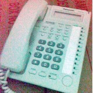 Preowned Office Telephone Panasonic KX-T7730 Advanced Hybrid System (White) PBX Business Telephone $28. Sale @ 442 Yishun Avenue 11 Singapore 760442