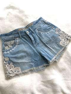Desigual jeans 牛仔熱褲