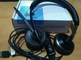 Plantronics Blackwire C520-M (Computer headphones w/ mic)