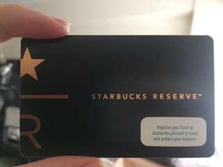 Starbucks Reserve Card - Philippines