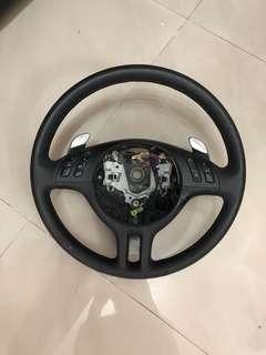 Original Bmw M3 Leather steering