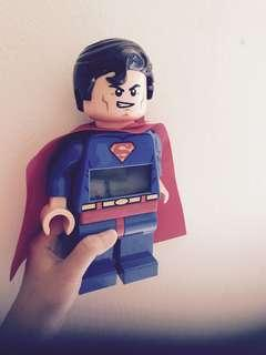 Lego SuperHeroes DC Comic Alarm Clock