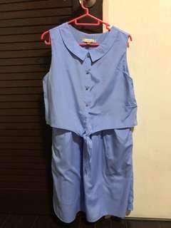 L'zzie Ocean Blue dress