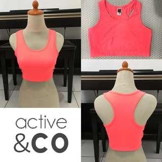 ACTIVE & CO active bra (light orange)