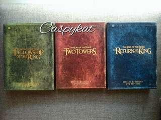 Lord of the Rings Trilogy Collector's Edition