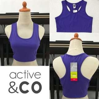 ACTIVE & CO active bra (purple)