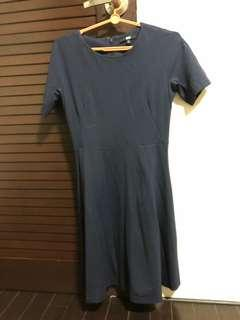 Uniqlo Blue/ Black dress