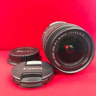 Canon Lens 18-55mm II IS