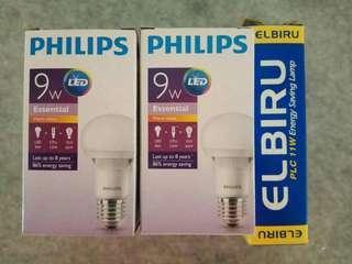 Philips 9w LED bulb