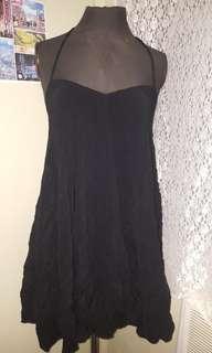 Black flowy dress s-m