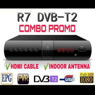 R7 DVB-T2 TV BOX PACKAGE