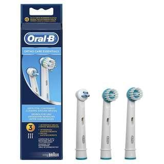 Oral b orthodontics brush head