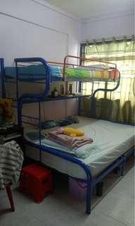 Moving out!! Selling Double Decker Bed frame ONLY